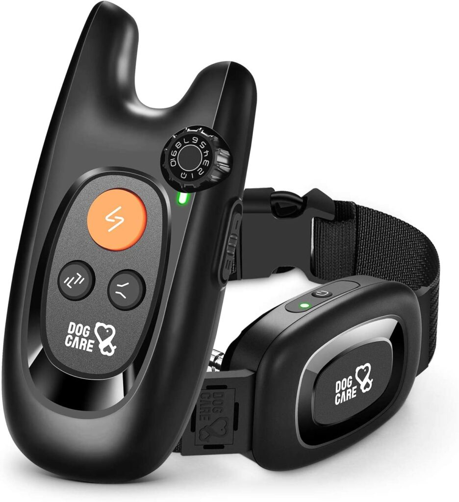 DOG CARE Dog Training Collar with Remote