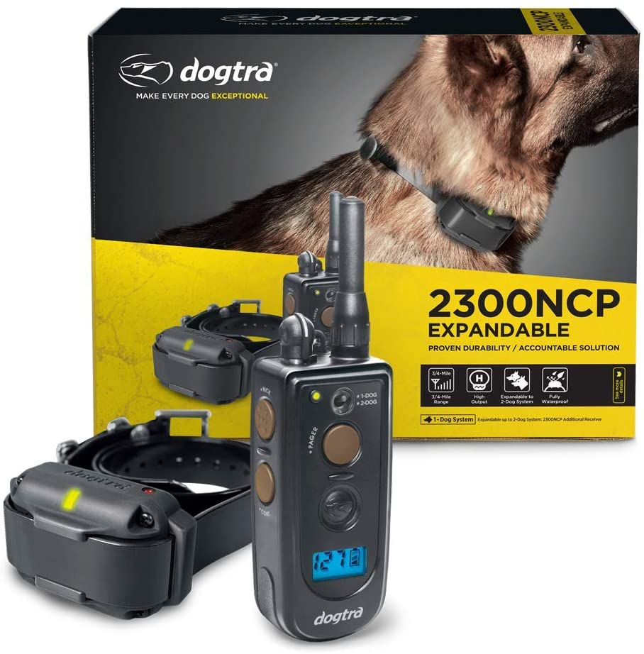 Dogtra 2300NCP Professional 2-Dog Expandable Remote Training E-Collar