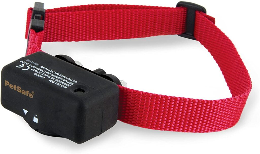 PetSafe Basic Bark Control Collar for Dogs 8 lb. and Up, Anti-Bark Training Device